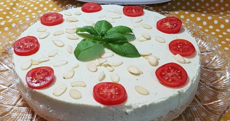 Cheesecake de Courgette